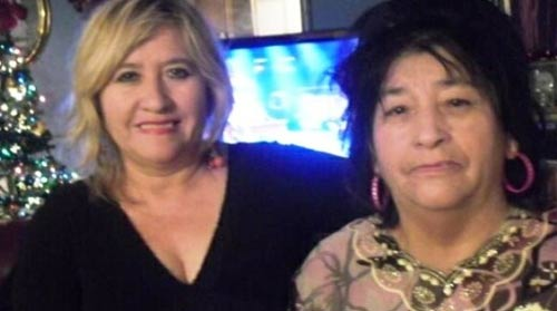 Guadalupe Tobia and daughter Cristel
