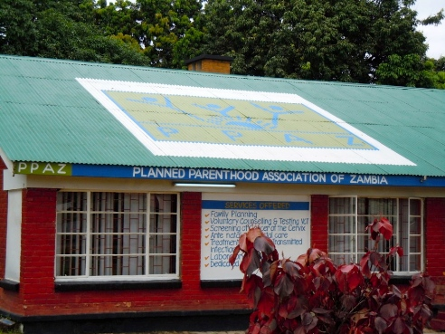 Planned Parenthood Association of Zambia clinis