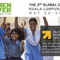 Women Deliver 2013 to take place in Kuala Lumpur at the end of May