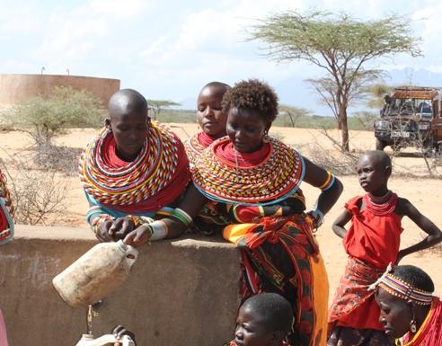 Young pastoralist women Kenya