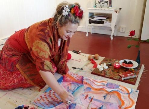 Artist Shiloh Sophia McCloud