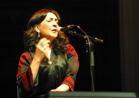Iranian singer Mahsa Vahdat