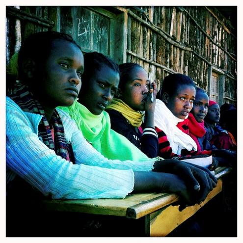 Southern Ethiopian girls