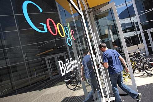 Google Building 41 entrance
