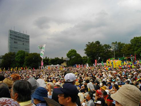Stop Nuclear Power Plants rally in Japan