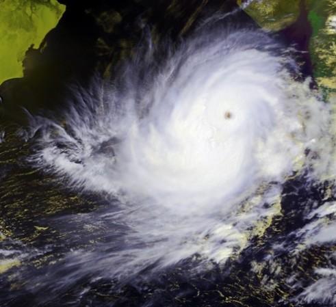 May 2001 cyclone that hit India