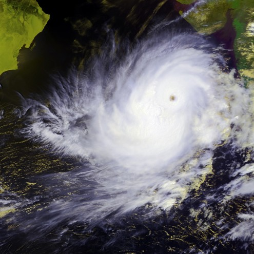 May 2001 cyclone that hit India