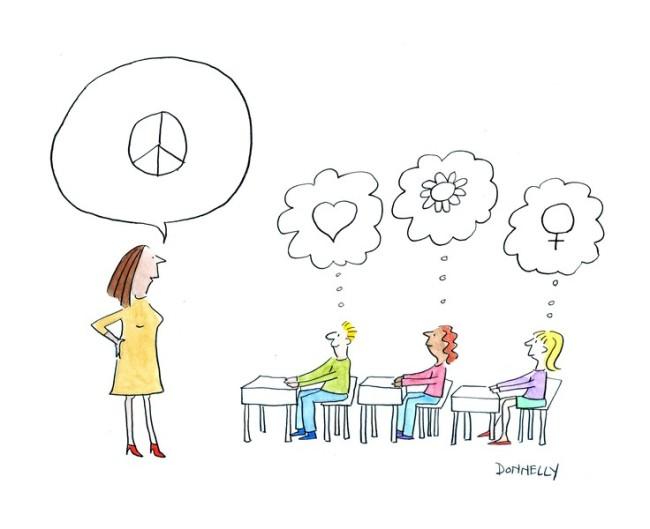 women's rights cartoon