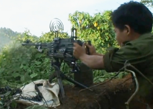 Child soldier of the Tatmadaw