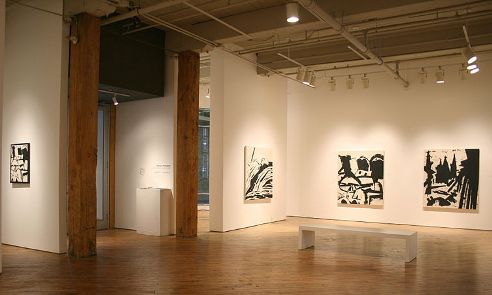An exhibition of artist Gerald Ferguson's work in the Wynick/Tuck Gallery, January 2009, Toronto, Ontario,