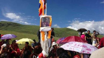 Celebration of the Dalai Lama's birthday in Sichuan Province, China (Tibetan Autonomous Region)