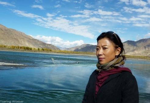 Tibetan human rights journalist Tsering Woeser