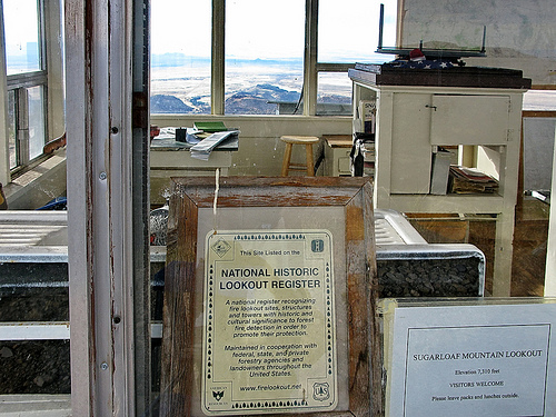 Fire lookout cabin Arizona, U.S.
