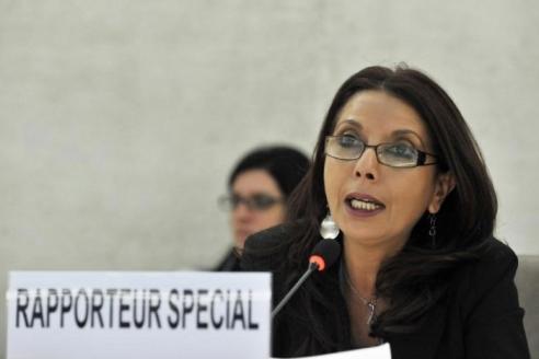 UN Special Rapporteur Najat Maalia Mjid