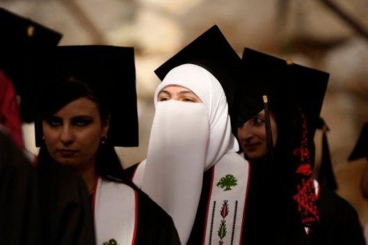 Palestine Woman graduates