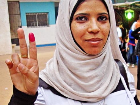 Egyptian woman Cairo