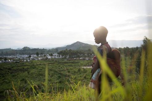 Young boy Eastern Congo