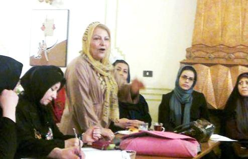Iranian women advocates