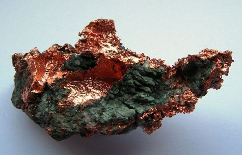 Native copper from Germany