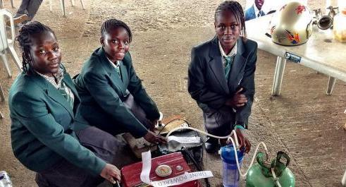 Girl engineers Lagos, Nigeria