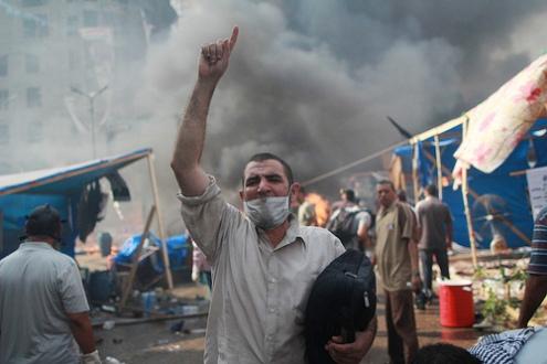 Pro-Morsi protests Cario August 14, 2013