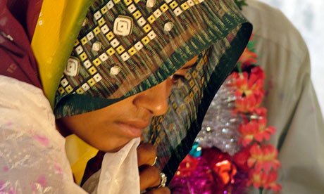 Child bride Bhopal, India