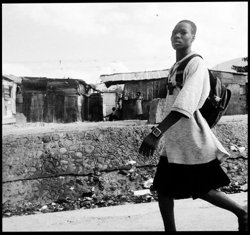 Poor conditions of housing Port-au-Prince, Haiti 2010