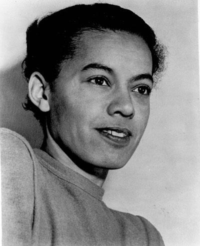 Black civil rights leader Ms. Pauli Murray
