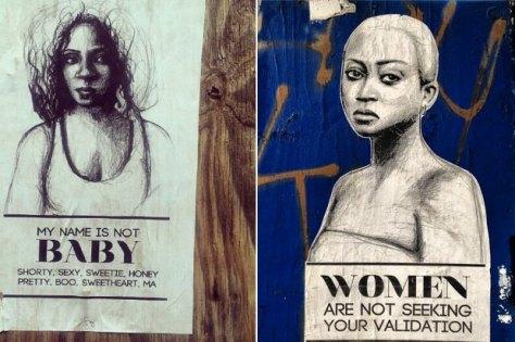 Anti-Street Harassment Art