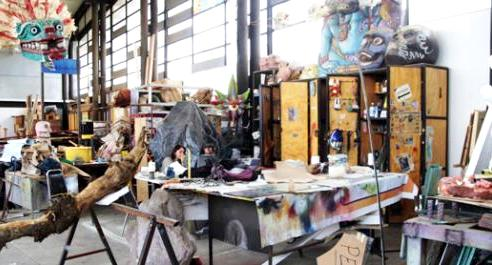 The Fábrica de Artes y Oficios de Oriente - Arts and Crafts Factory in the east side of Mexico City, Mexico