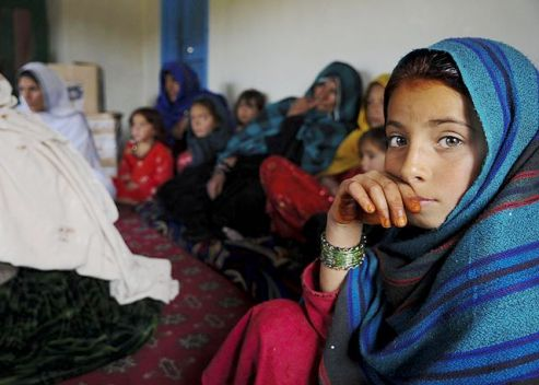 Women voice concern in public meeting  Pakitika Province, Afghanistan