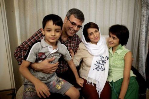 Iranian human rights attorney Ms. Nasrin Sotoudeh after her release from prison