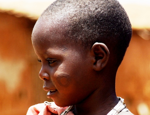 Maasai girl Kenya