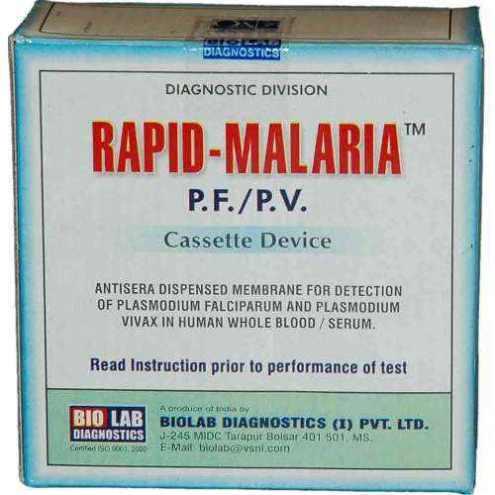 Rapid-Malaria diagnostic test