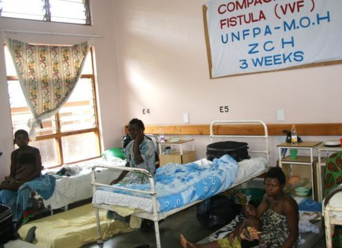 Malawian women obstetric fistula patients
