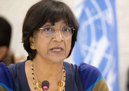 UN High Commissioner for Human Rights Ms Navi Pillay