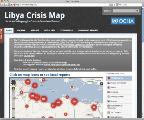 Digitial Data Mapping Libya