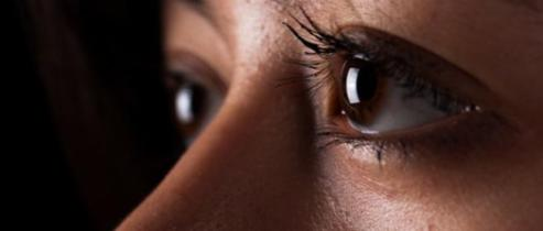 Sex-trafficking survivor Alma