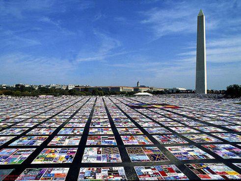 The Names Project - AIDS Memorial Quilt - Washington D.C.