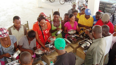 Clean cookstove pilot project in Haiti