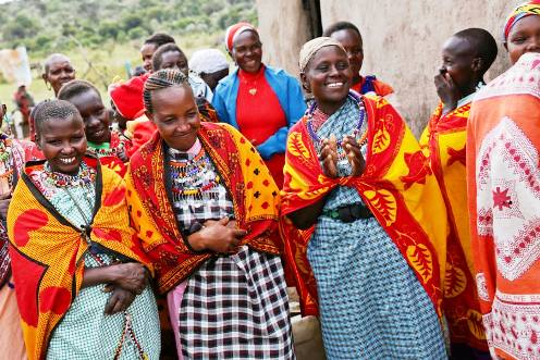 Kenya women honor thier daughters how have refusted FGM