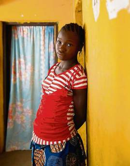 Images from the 'Her Story' photography project. The project, aimed at highlighting Plan International's global 'Because I am a Girl' campaign, examines the everyday lives of girls in Ireland and Sierra Leone. Image: Cherie Blair.