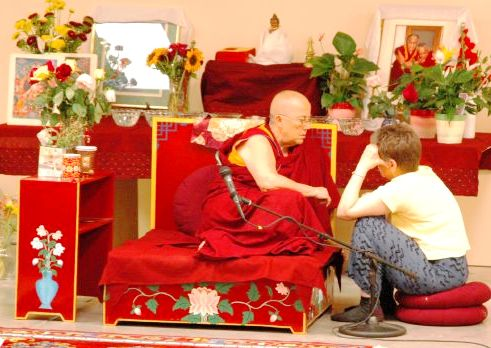 Buddhist nun Ven. Robina Courtin