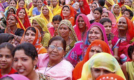 Women gathering India