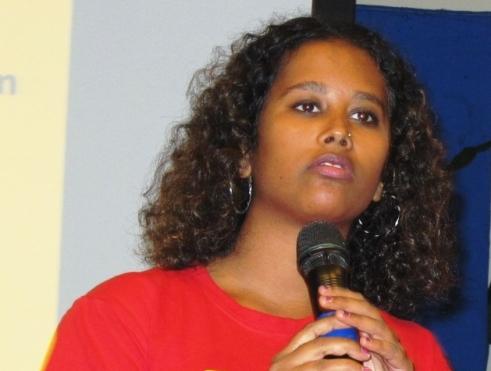 Sri Lankan human rights advocate and filmmaker Ms. Lena Hendry