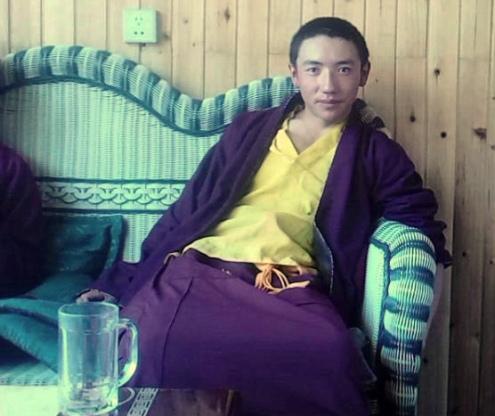 Tibetan Buddhist monk Tsering Gyal
