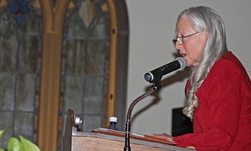 Vietnam woman veteran and advocate Sarah Blum