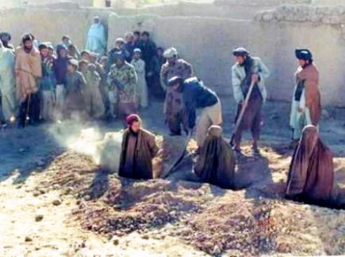 Stoning in rural Afghanistan