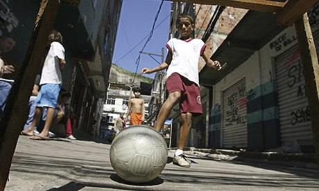 Brazil boy football