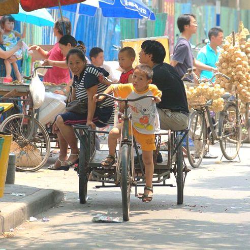 Families in Nanjing, China
